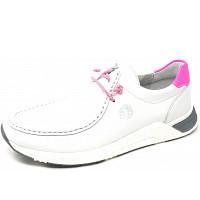 SIOUX - Grashopper her.Fussbett - Mokassin - white pink