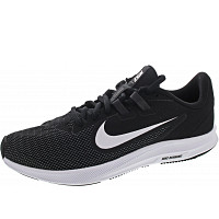 NIKE - Downshifter 9 - Sportschuh - black-white-antrh.grey