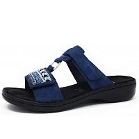 RIEKER - Pantolette - blau