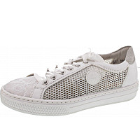 Rieker - Sneaker - weiss-silber/weiss/w