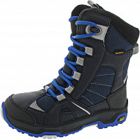JACK WOLFSKIN - Boys snow ride tex - Kinderstiefel - vibrant blue
