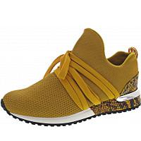La Strada - Sneaker - knitted ochre