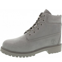 TIMBERLAND - 6 in Premium WP Boot - Schnürstiefel - grey