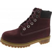 TIMBERLAND - 6 in Premium WP Boot - Boots - dark port