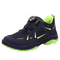 SUPERFIT - BOA Verschluss - Sneaker - blau gelb