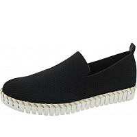 LA STRADA - Slipper - knitted black