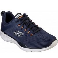 SKECHERS - Sneaker - navy orange