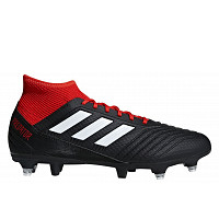 ADIDAS - Core Black / Ftwr White / Red