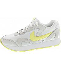 Nike - Wmns Delfine - Sneaker - white-bicycle yellow