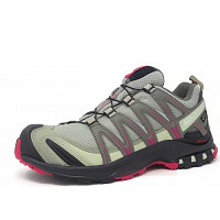 Salomon - XA Pro 3D GTX - Damen Trail Laufschuhe - shadow black sangria
