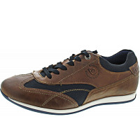 Bugatti - TOMEO - Sneaker - DARK BROWN / DARK BL