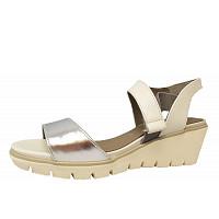 Ara - Da.-Sandale - Sandale - silber/ weiss
