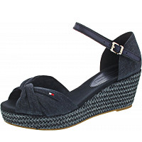 TOMMY HILFIGER - Iconic Elba Metallic - Sandalette - midnight