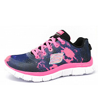 SKECHERS - Groove Thang - Schnürer - NVHP navy/pink
