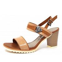 MARCO TOZZI - Da.-Sandalette - Sandalette - candy comb