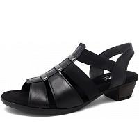 Gabor Comfort - Da.-Schuh - Sandalette - 57 black