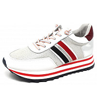 FUSION - Sneaker - white blue red