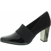 MARCO TOZZI - Pumps - BLACK PAT.COMB
