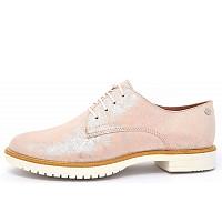 TAMARIS - Da.-Schuh - Schnürer - rosa metallic