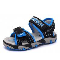 SUPERFIT - Ki.-Schuh - Sandale - 0 SCHWARZ/BLAU
