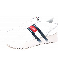 TOMMY HILFIGER - High Cleated Coporate - Sneaker - white