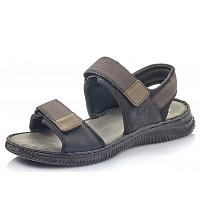 RIEKER - Sandale - schwarz tabac