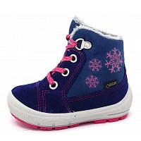 SUPERFIT - Groovy - Mädchenstiefel - blau/rosa