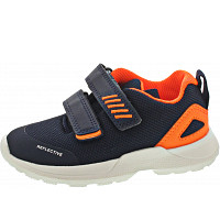 SUPERFIT - RUSH - Lauflernschuh - BLAU/ORANGE