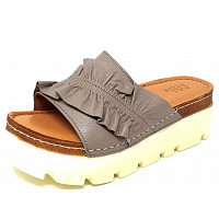 BULLBOXER - Bullb oxer - Pantolette - taupe