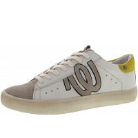 Wrangler - Clever WRG - Sneaker - white-yellow