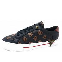 GUESS - Sneaker - BRRED braun schw reot