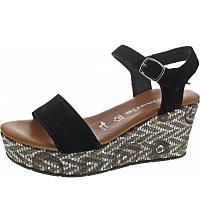 TAMARIS - Sandale - BLACK/ETHNO