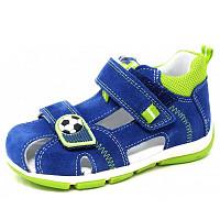 SUPERFIT - Sandale - blau hellgrün
