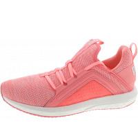 PUMA - Mega NRGY Knit Wns - Sneaker - soft fluo peach-puma wh