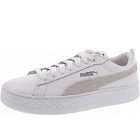 PUMA - Smash Platform L - Sneaker - white