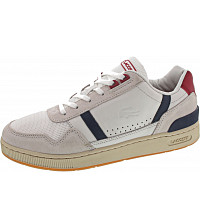 LACOSTE - T-Clip 120 2 US SMA - Sneaker - white/navy/red