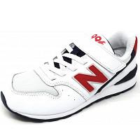 NEW BALANCE - 996 - Sneaker - 3 weiss/rot