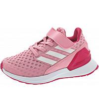 adidas - RapidaRun EL K - Sportschuh - ltpink/ftwwht/reamag