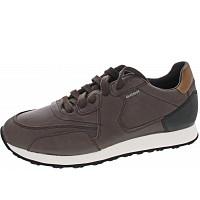 GEOX - Vincit - Sneaker - dk coffee - black