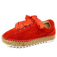 BULLBOXER - Bullb oxer - Leinenschuh - coral