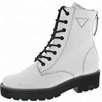 PAUL GREEN - Boots - WHITE/OFFWHITE