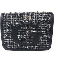GUESS - Guess Chrissy - Tasche - black Tweed
