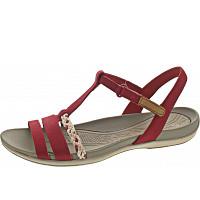 CLARKS - Sandale - Red Nubuck