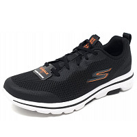SKECHERS - Sneaker - black/ white