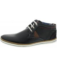 s.Oliver - Sneaker - navy-cognac