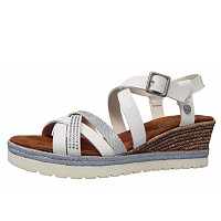 MUSTANG - Da.-Schuh - Sandalette - 1 weiß