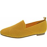 LA STRADA - Slipper - knitted yellow