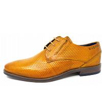 BUGATTI - City Morino Comfort - elegante Schnürer - 5000 yellow