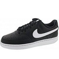NIKE - WMNS Court Vision Low - Sneaker - black-white