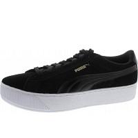 Puma - Vikky Platform - Sneaker - black-white